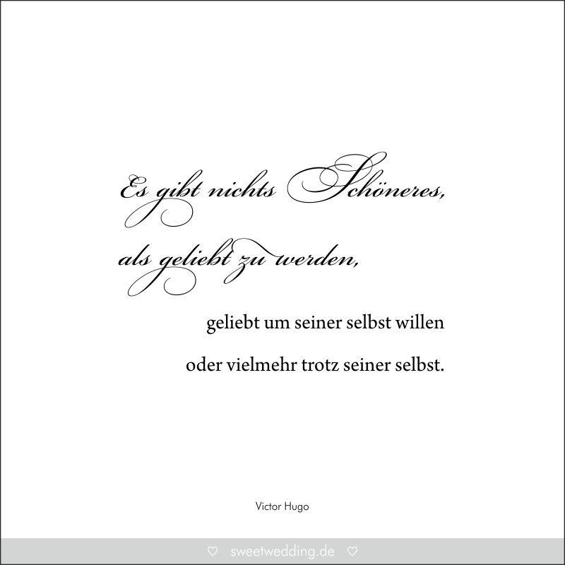 """Zitate Zur Hochzeit  Trausprüche & Zitate Hochzeit Liebe Glück """"Es gibt"""
