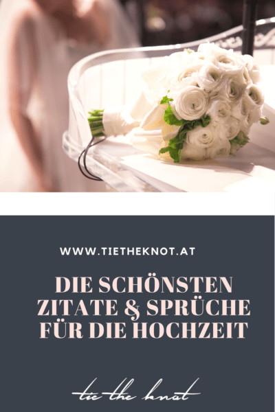 Zitate Zur Hochzeit  Hochzeitssprüche Zitate und Sprüche zur Hochzeit