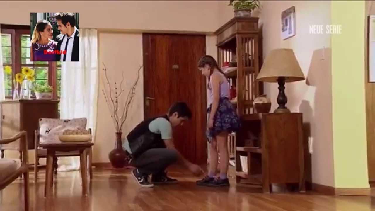 Zu Hause Anrufen  Violetta Ludmila und Naty besuchen Tomas zu Hause