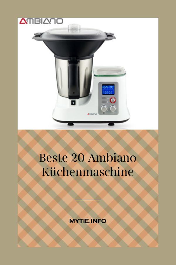 Ambiano Küchenmaschine Mit Kochfunktion 2021