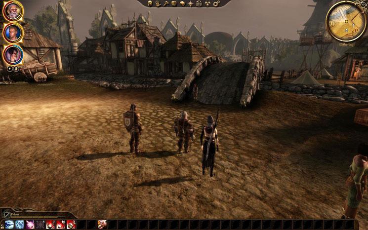 Dragon Age Origins Geschenke  Komplettlösung Dragon Age – Origins Lothering und der